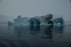 Iceberg with Arches