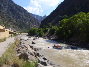 Biking Glenwood Canyon