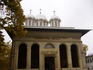 Orthodox church at the Monastery