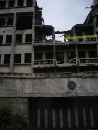 Bombed out Building