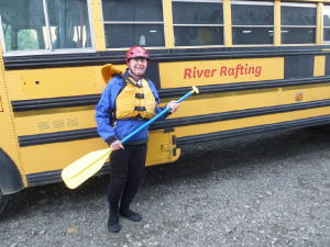 Fred dressed for rafting