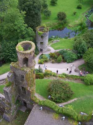 View from top of Blarney Castle