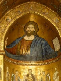 Christ the Pantocrator Mosaic