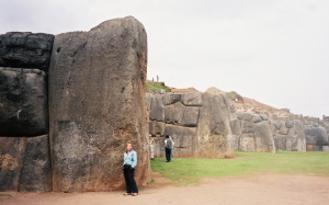 Huge rock at Sacsayhuaman