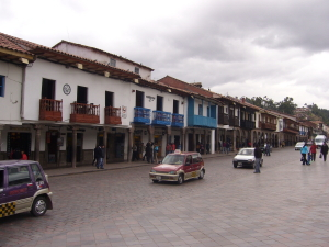 Street in Downtown Cusco