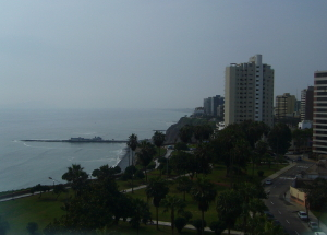 View from Miraflores Hotel