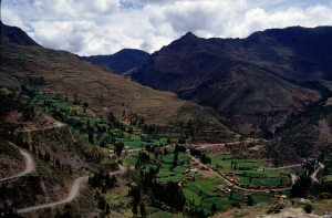 Urubamba Valley from Pisac