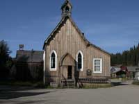 Barkerville Anglican Church, 1869