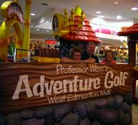 Mall Miniature Golf