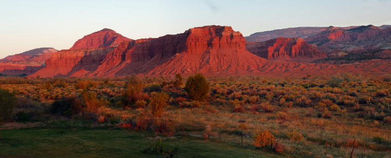Capital Reef Sunrise